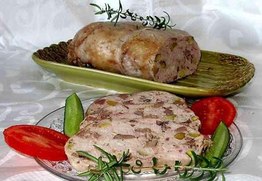 Галантин мясной рецепт 125