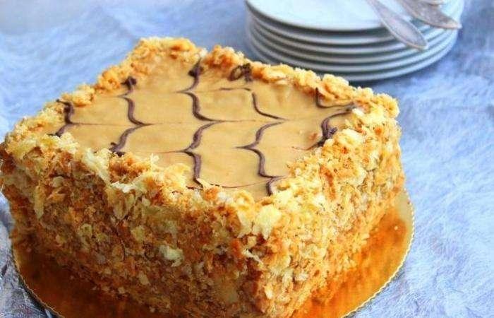 Рецепт домашнего торта наполеон пошаговый рецепт с