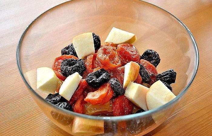 Компот из изюма и яблок рецепт