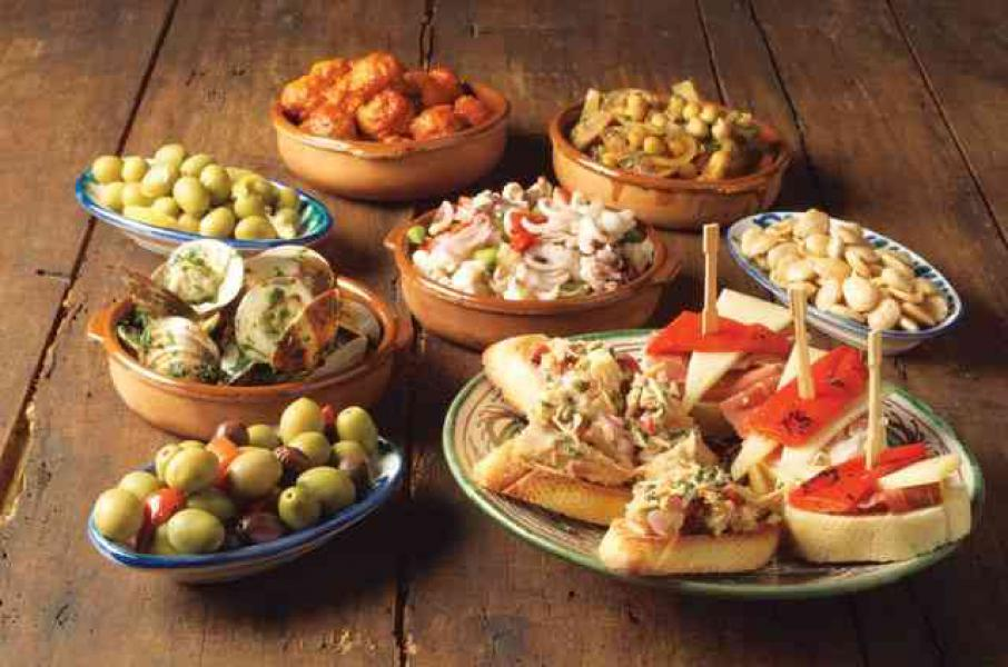 Tapas Revised The Little Dishes of Spain Penelope